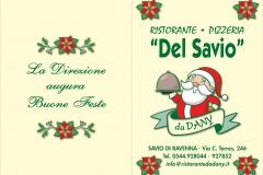RIST. DEL SAVIO Menù Natale